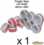 QTY 1 Roll - Printed FRAGILE